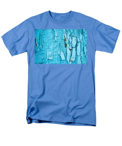 Men's T-Shirt  (Regular Fit) featuring the photograph Old Blue Wood by John Williams