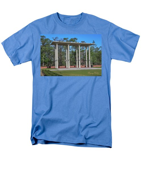 Men's T-Shirt  (Regular Fit) featuring the photograph Old Student Union Arches by Gregory Daley  PPSA