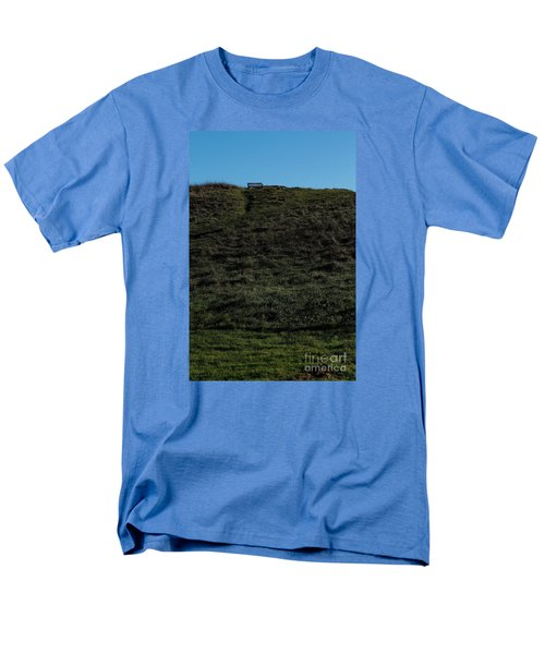 Men's T-Shirt  (Regular Fit) featuring the photograph On The Hill by Gary Bridger