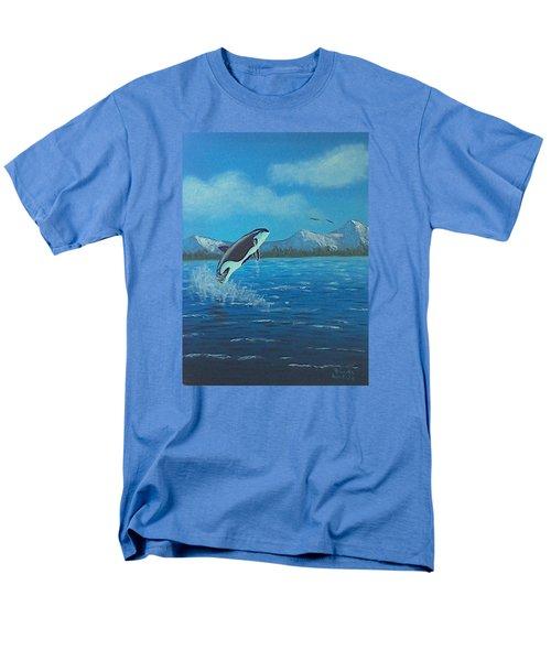 Orca Men's T-Shirt  (Regular Fit)