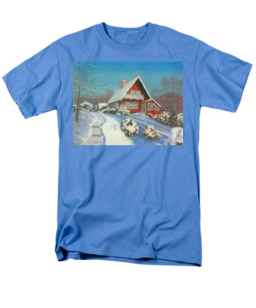 Our Home Men's T-Shirt  (Regular Fit) by Rae  Smith  PAC
