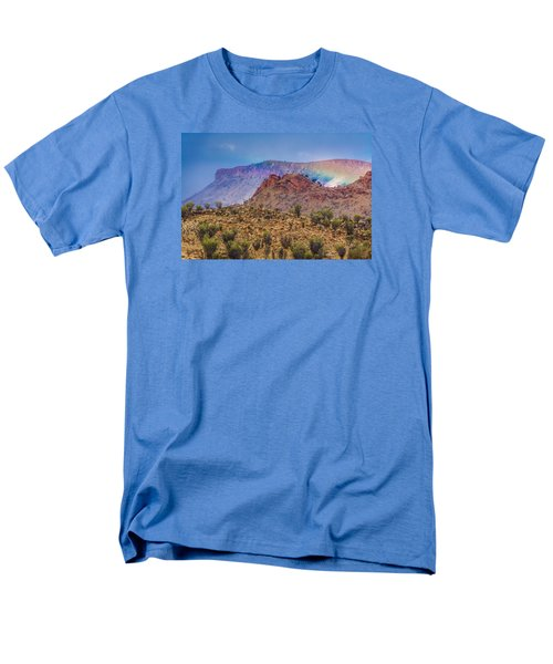Outback Rainbow Men's T-Shirt  (Regular Fit) by Racheal  Christian