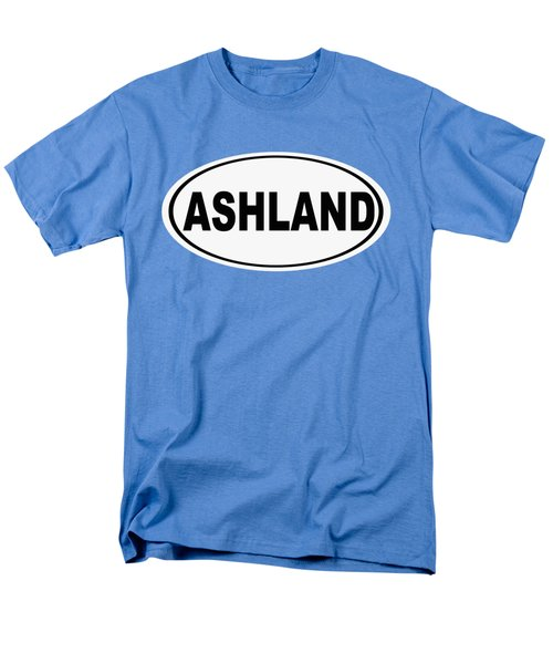 Men's T-Shirt  (Regular Fit) featuring the photograph Oval Ashland Oregon Or Ohio Home Pride by Keith Webber Jr