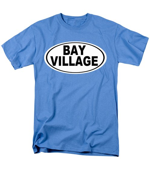 Men's T-Shirt  (Regular Fit) featuring the photograph Oval Bay Village Ohio Home Pride by Keith Webber Jr