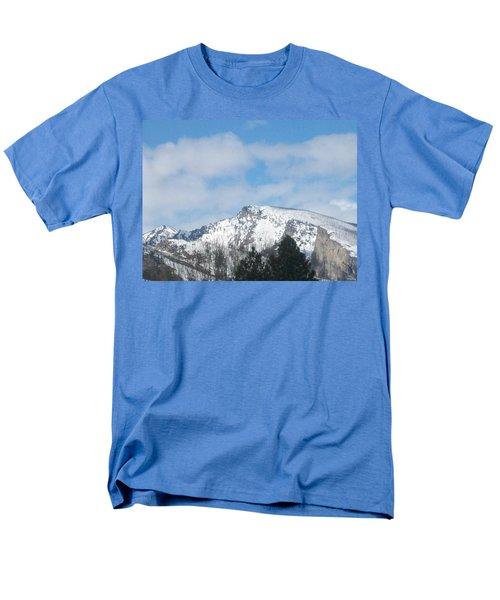 Overlooking Blodgett Men's T-Shirt  (Regular Fit) by Jewel Hengen