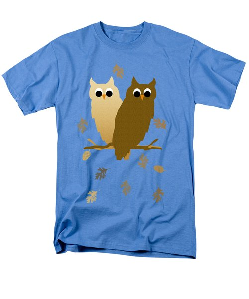 Owls Pattern Art Men's T-Shirt  (Regular Fit) by Christina Rollo
