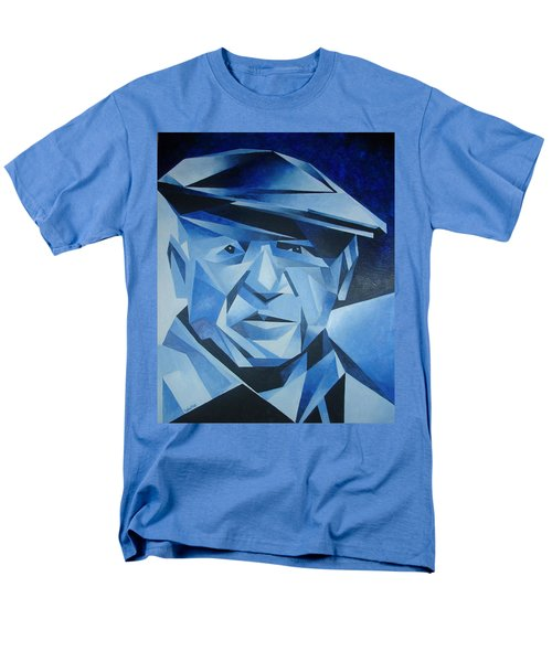 Pablo Picasso The Blue Period Men's T-Shirt  (Regular Fit) by Tracey Harrington-Simpson