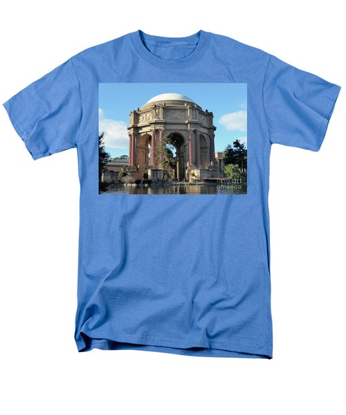 Men's T-Shirt  (Regular Fit) featuring the photograph Palace Of Fine Arts by Steven Spak