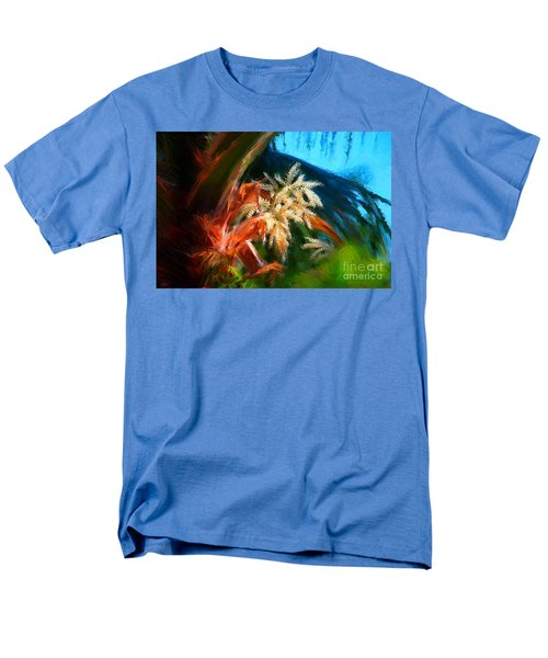 Palm Flowers Men's T-Shirt  (Regular Fit)