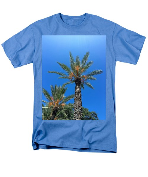 Palm Trees Men's T-Shirt  (Regular Fit) by Kay Gilley