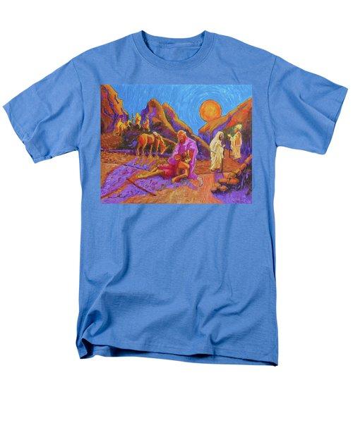 Parables Of Jesus Parable Of The Good Samaritan Painting Bertram Poole Men's T-Shirt  (Regular Fit) by Thomas Bertram POOLE