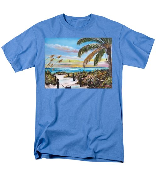 Paradise Men's T-Shirt  (Regular Fit) by Lloyd Dobson