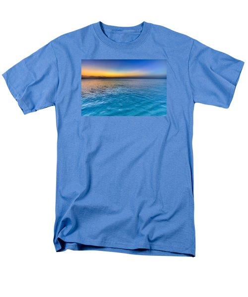 Pastel Ocean Men's T-Shirt  (Regular Fit)