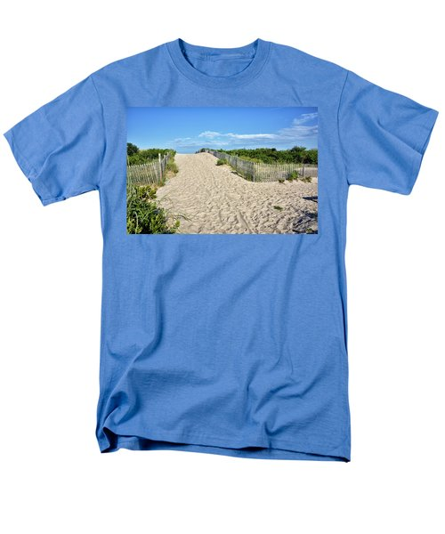 Pathway To The Beach - Delaware Men's T-Shirt  (Regular Fit) by Brendan Reals