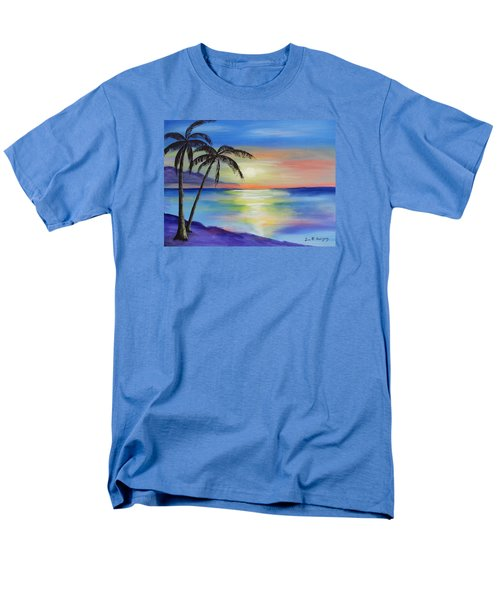 Peaceful Sunset Men's T-Shirt  (Regular Fit) by Luis F Rodriguez