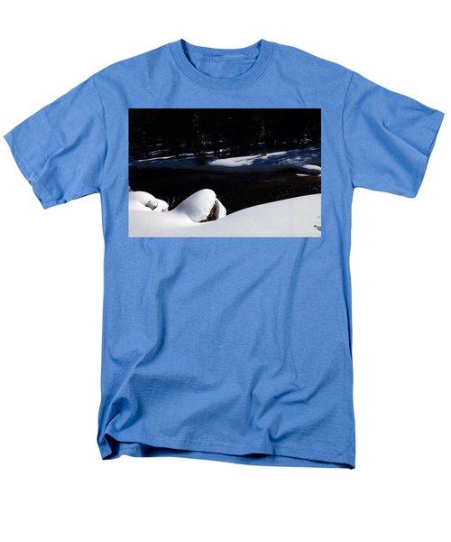 Peaceful Winter Scene Men's T-Shirt  (Regular Fit) by C Sitton