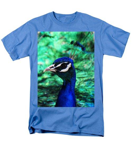 Peacock Men's T-Shirt  (Regular Fit) by Joseph Frank Baraba