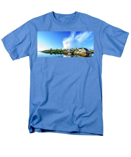 Peggys Cove Men's T-Shirt  (Regular Fit) by Ken Morris