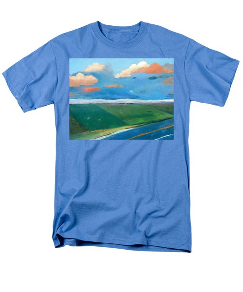 Men's T-Shirt  (Regular Fit) featuring the painting Peggy's Road by Gary Coleman