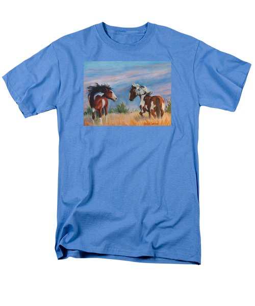 Picasso Challenge Men's T-Shirt  (Regular Fit) by Karen Kennedy Chatham