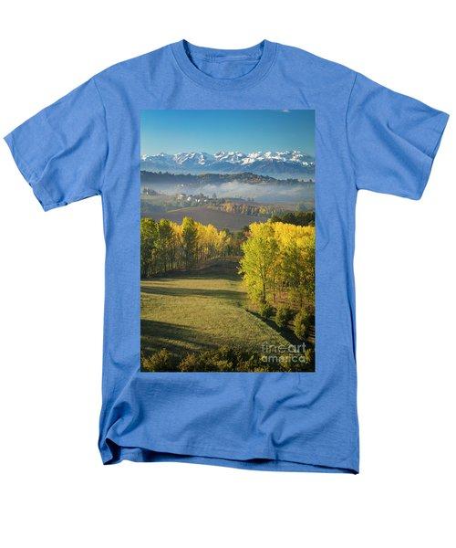 Men's T-Shirt  (Regular Fit) featuring the photograph Piemonte Morning by Brian Jannsen