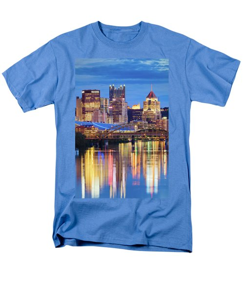 Pittsburgh 2 Men's T-Shirt  (Regular Fit) by Emmanuel Panagiotakis