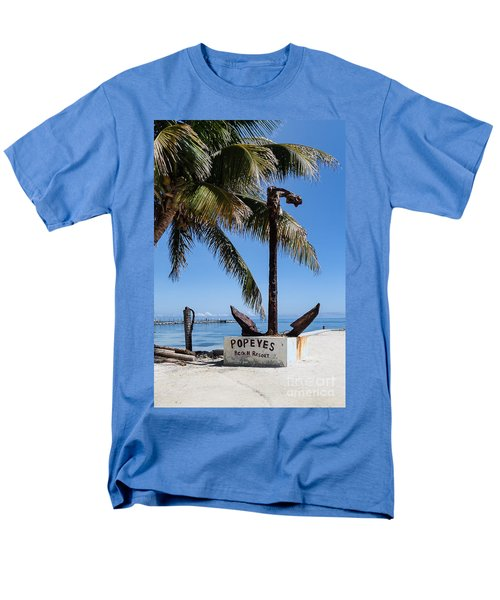 Men's T-Shirt  (Regular Fit) featuring the photograph Popeyes by Lawrence Burry