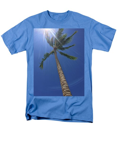 Powerful Palm Men's T-Shirt  (Regular Fit) by Karen Nicholson