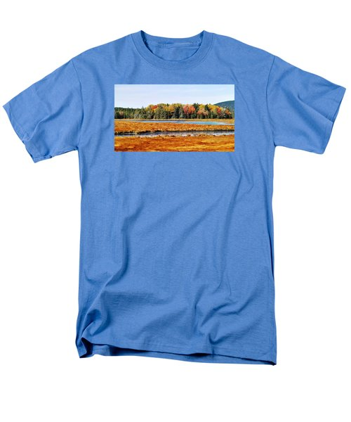 Men's T-Shirt  (Regular Fit) featuring the photograph Pretty Marsh 2 by Mike Breau