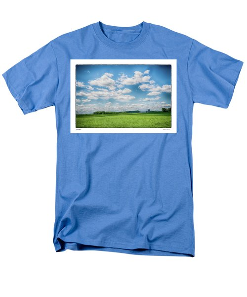 Prison Barn Men's T-Shirt  (Regular Fit) by R Thomas Berner