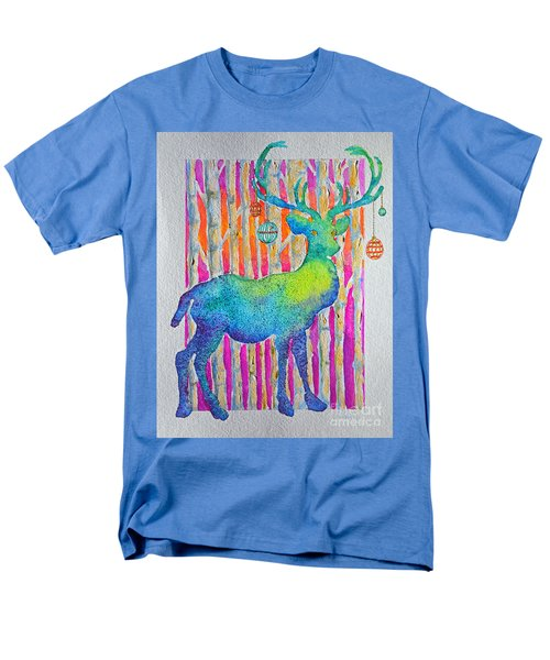 Psychedeer Men's T-Shirt  (Regular Fit) by Li Newton