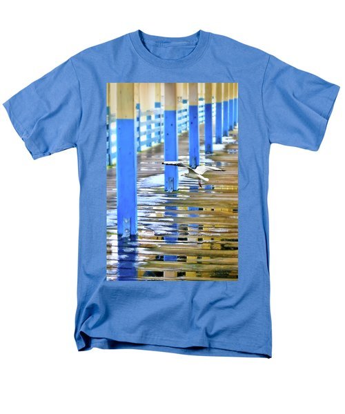 Men's T-Shirt  (Regular Fit) featuring the photograph Puddles by Diana Angstadt