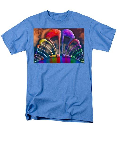 Rainbow Hill Men's T-Shirt  (Regular Fit) by Paul Wear