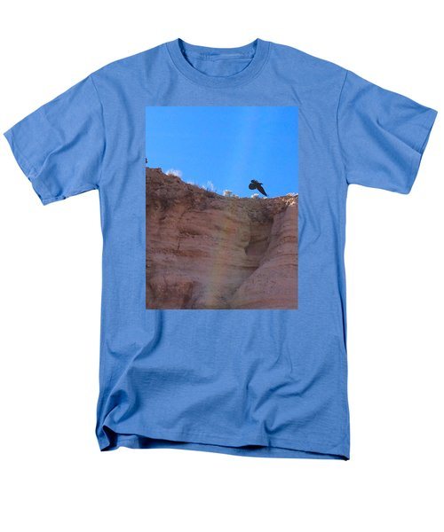 Men's T-Shirt  (Regular Fit) featuring the photograph Raven by Brenda Pressnall