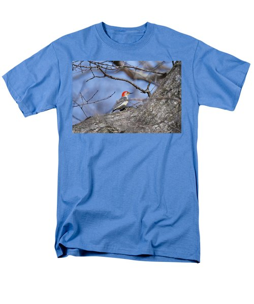 Men's T-Shirt  (Regular Fit) featuring the photograph Red-bellied Woodpecker 1134 by Michael Peychich