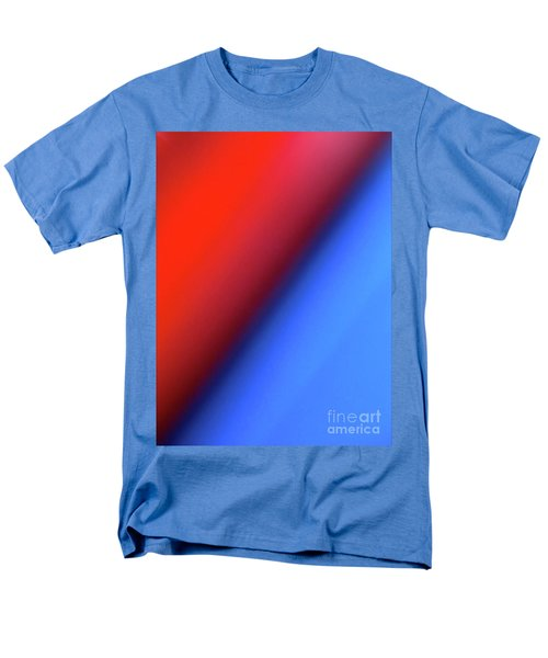 Men's T-Shirt  (Regular Fit) featuring the photograph Red Blue by CML Brown