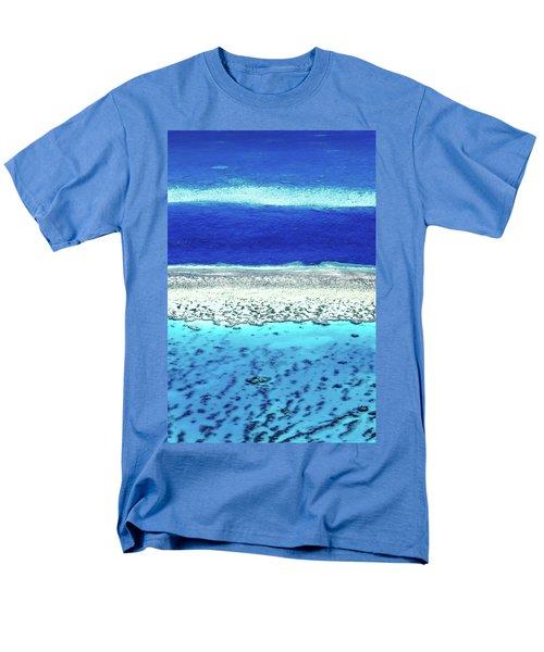 Men's T-Shirt  (Regular Fit) featuring the photograph Reefs Edge by Az Jackson