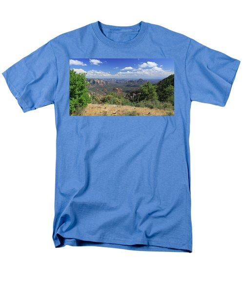 Remote Vista Men's T-Shirt  (Regular Fit) by Gary Kaylor