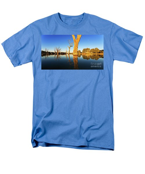 Men's T-Shirt  (Regular Fit) featuring the photograph Renamrk Murray River South Australia by Bill Robinson