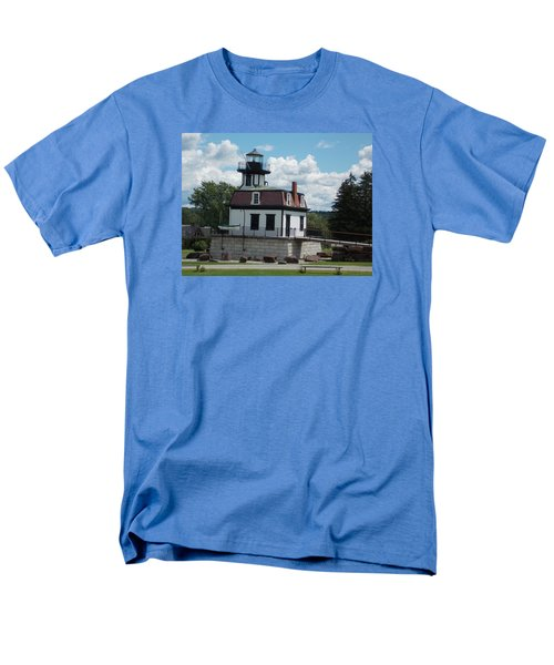 Restored Lighthouse Men's T-Shirt  (Regular Fit) by Catherine Gagne