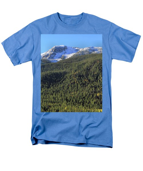 Men's T-Shirt  (Regular Fit) featuring the photograph Rocky Mountain Evergreen Landscape by Dan Sproul