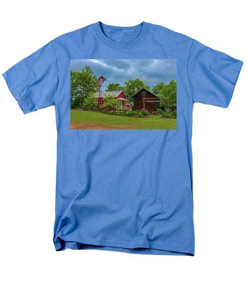 Rosholt Pioneer Park Men's T-Shirt  (Regular Fit) by Trey Foerster