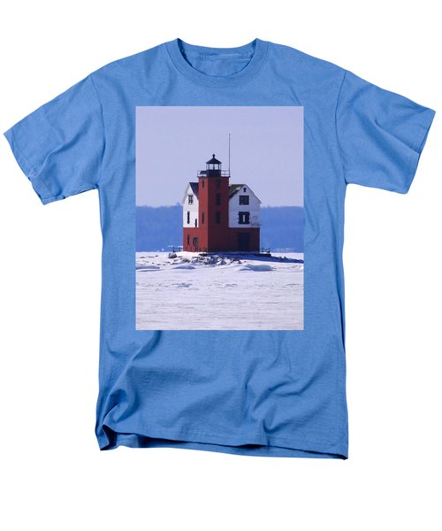 Round Island 2 Men's T-Shirt  (Regular Fit) by Keith Stokes
