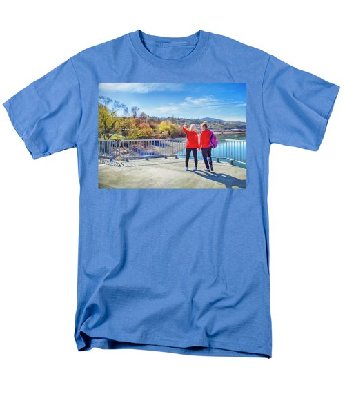 Men's T-Shirt  (Regular Fit) featuring the photograph Russian Selfie by Theresa Tahara