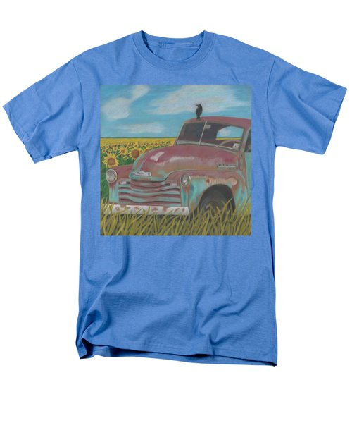 Rust And Gold Men's T-Shirt  (Regular Fit) by Arlene Crafton