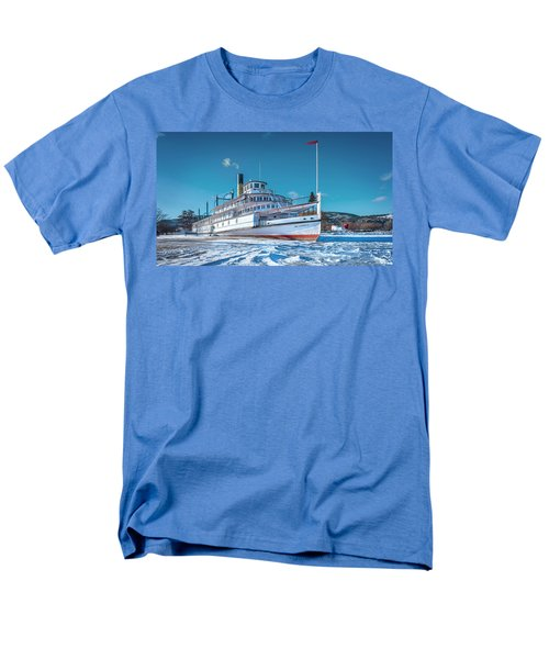 Men's T-Shirt  (Regular Fit) featuring the photograph S. S. Sicamous by John Poon