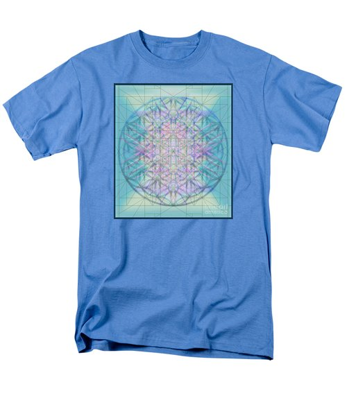 Men's T-Shirt  (Regular Fit) featuring the digital art Sacred Symbols Out Of The Void 4b by Christopher Pringer