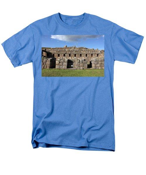 Sacsaywaman Cusco, Peru Men's T-Shirt  (Regular Fit) by Aidan Moran