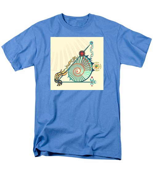Men's T-Shirt  (Regular Fit) featuring the digital art Sailing Infinity by Deborah Smith
