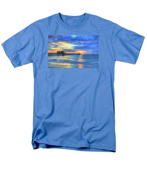 Men's T-Shirt  (Regular Fit) featuring the digital art Sailor's Delight by Sharon Batdorf